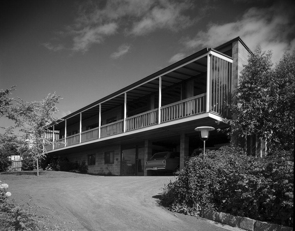 """Bornholm"" - 14A Red Chapel Ave, Sandy Bay, 1962 - Architect: Jim Moon"